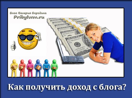 Как сделать доход от своего сайта 965