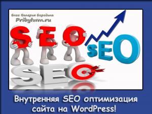 Внутренняя SEO оптимизация сайта на WordPress