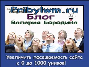 Увеличить посещаемость сайта с 0 до 1000 уников