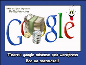 как вставить код google adsense в wordpress