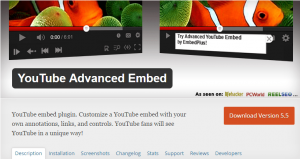 YouTube Advanced Embed