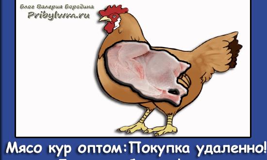 мясо кур оптом