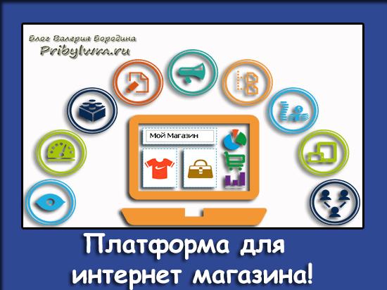 платформа для интернет магазина
