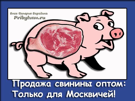 продажа свинины