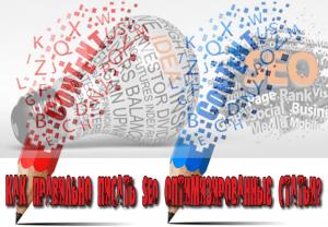как правильно писать SEO оптимизированные статьи