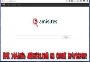 как удалить amisites