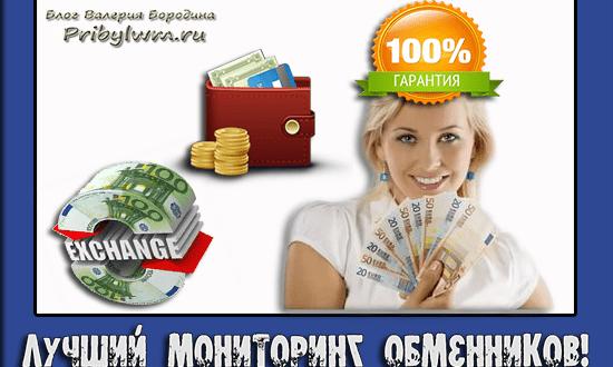 мониторинг обменников лучшие курсы обмена