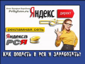яндекс реклама для сайта