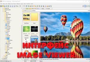 Интерфейс Image Viewer