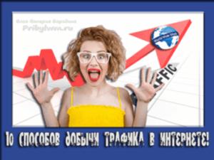 бесплатный интернет трафик