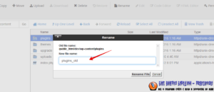 Rename Plugins Folder_wp-content_plugins