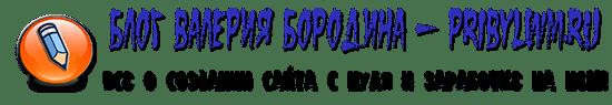 Блог Валерия Бородина