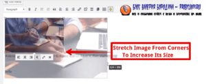 How to fix common image issues in WordPress increase size of images manually 2