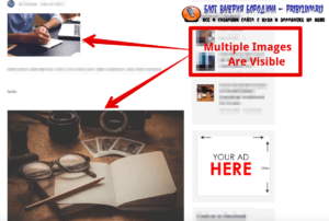 How to fix common image issues in WordPress multiple images are visible