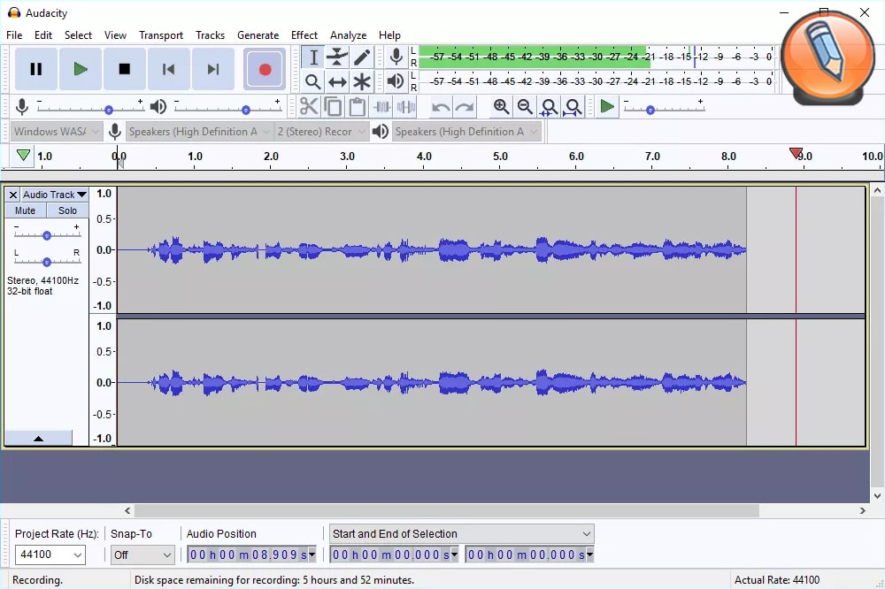 audacity record audio