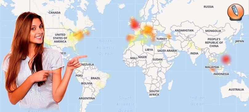 Karta problem Facebook