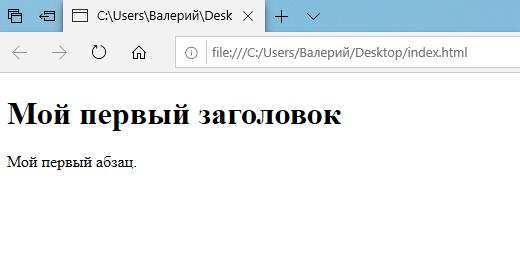 sozdanie sayta html v bloknote 3