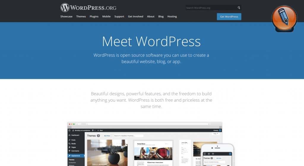 cms для сайта_wordpress