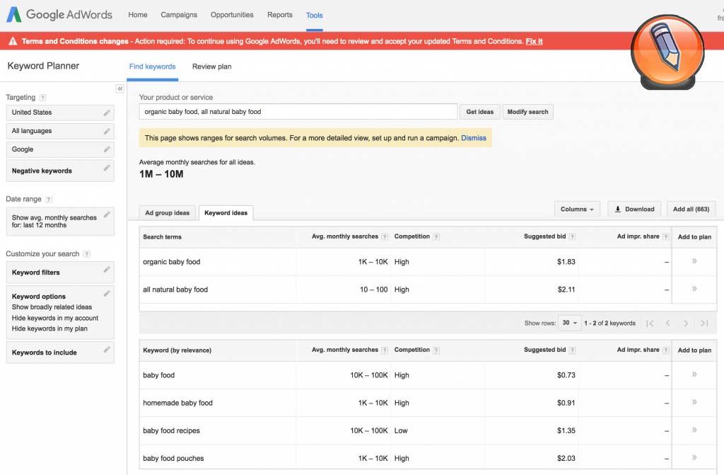 nastroyka elektronnoy torgovli_google keywordplanner