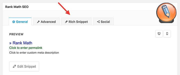 rich snippets in rank math
