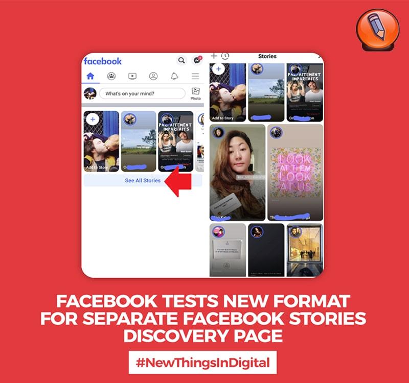 Facebook тестирует новый формат отдельной страницы