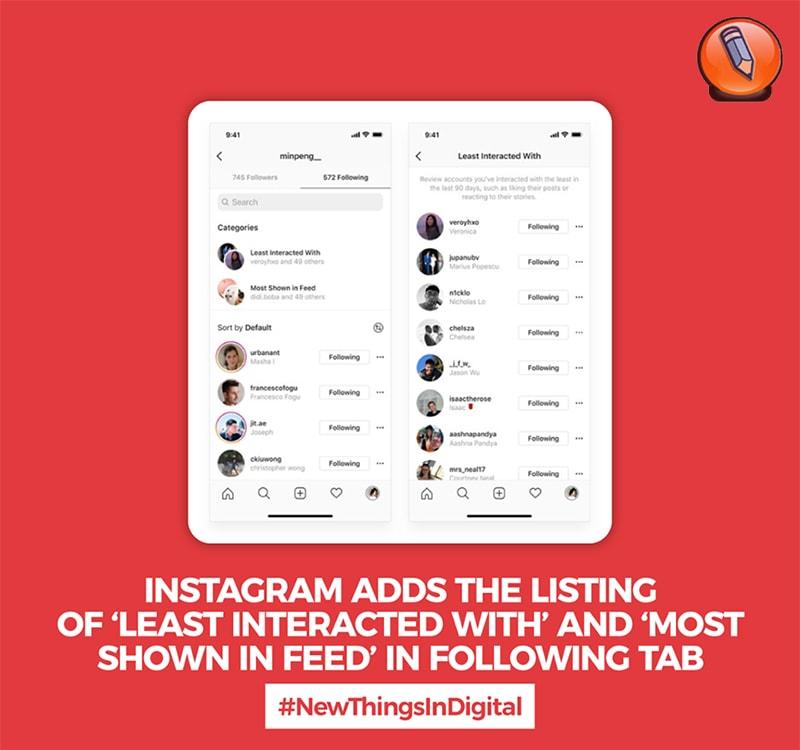 Instagram добавляет список