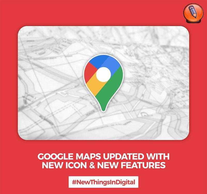 Карты Google обновлены