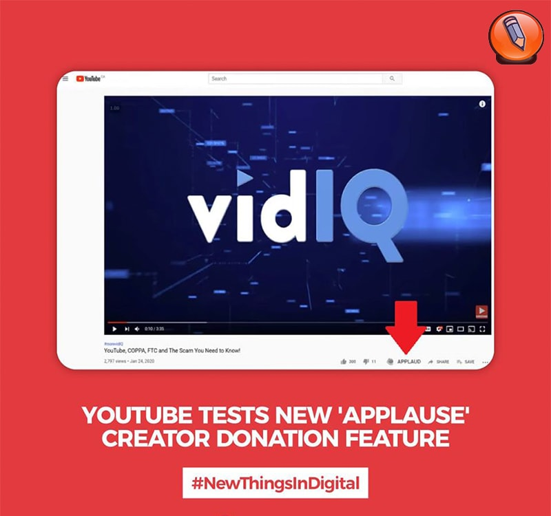 YouTube тестирует новую функцию