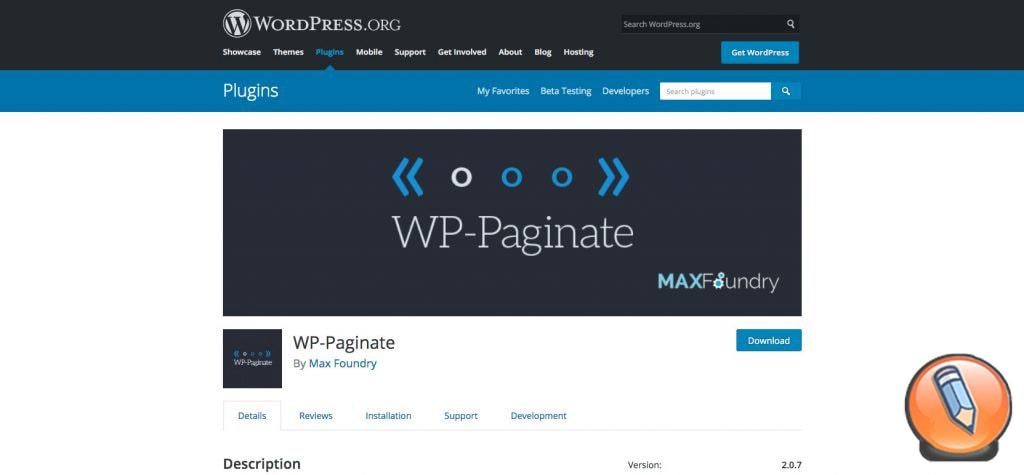 WP Paginate